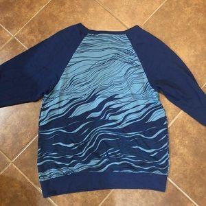Josie Tops - NWOT Josie Blue Loungewear Top